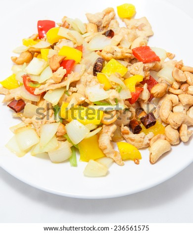 Fried Cashew Nut with chicken