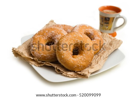 Fried donuts, Sardinian sweets