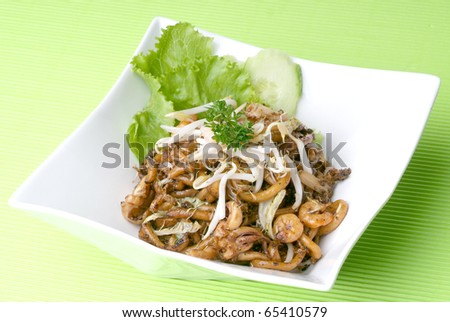 fried noodle - malaysian food