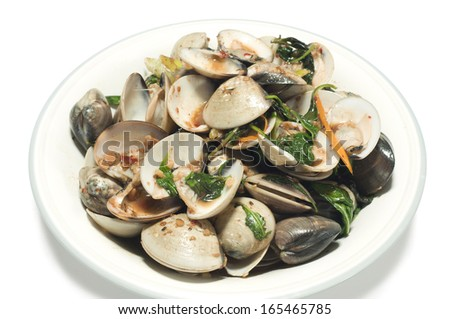 Clams With Basil Broth Recipes — Dishmaps