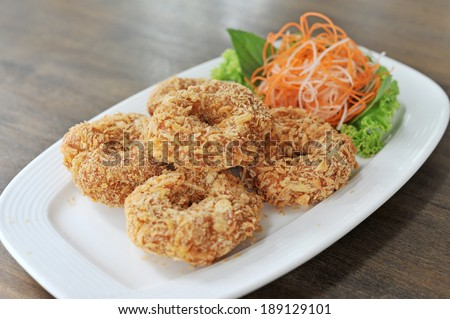 Fried Shrimp Cakes Stock Photos, Images, & Pictures | Shutterstock
