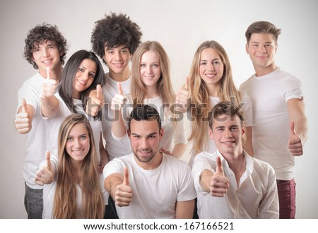 Friendly - stock photo