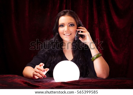 Fortune Teller Stock Images, Royalty-Free Images & Vectors ...