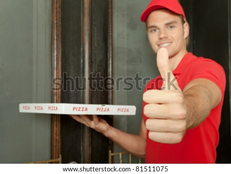 friendly pizza man