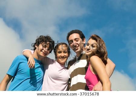 Friends - stock photo