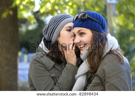 friends - stock photo