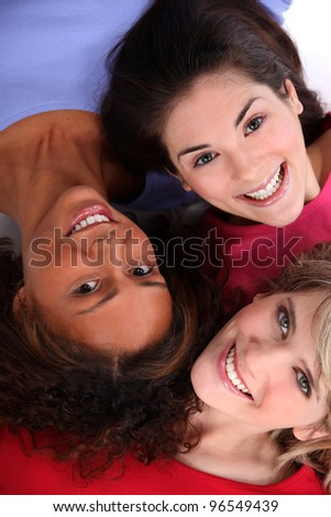 Friends. - stock photo