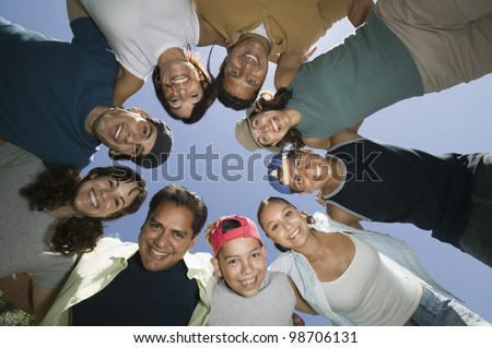 Friends and Family - stock photo