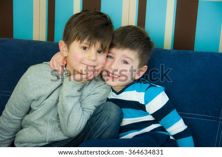 Friends for life - stock photo