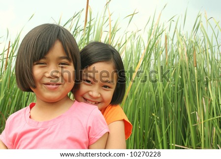 Friendship (series) - stock photo
