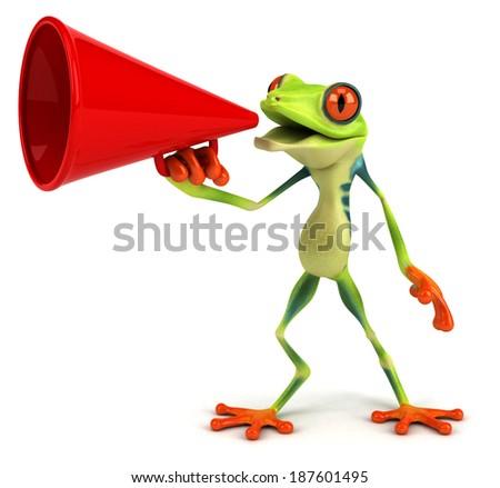 Frog - stock photo