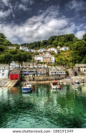 From a Fishing Port in Devon - stock photo