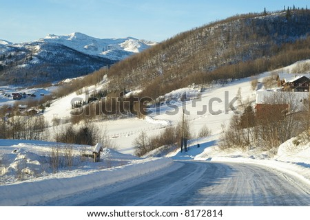 From Beito in Valdres in Oppland county in Norway - stock photo