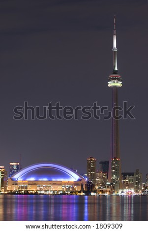 from central island - stock photo