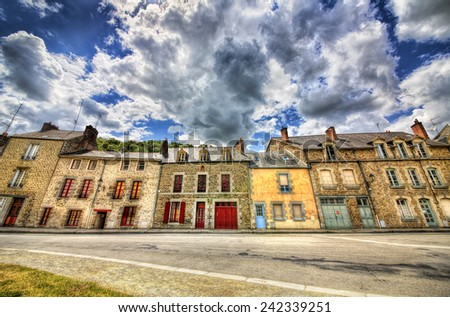 From Fougeres, Brittany - stock photo