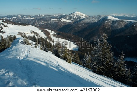 from mountains I. - stock photo