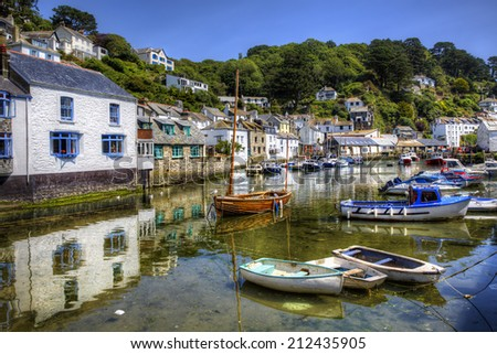 From the Fishing Port of Polperro, Cornwall
