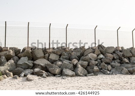 from the grid and stone fence