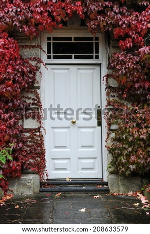Front Door of a Georgian Era Town House