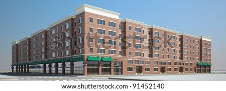 front of commercial, retail and office space available