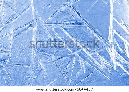Frost texture - stock photo