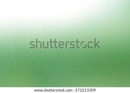 Frosted glass texture background Green color - stock photo