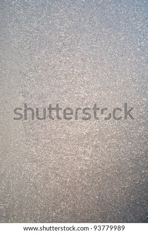 Frosting. windows in the winter - stock photo