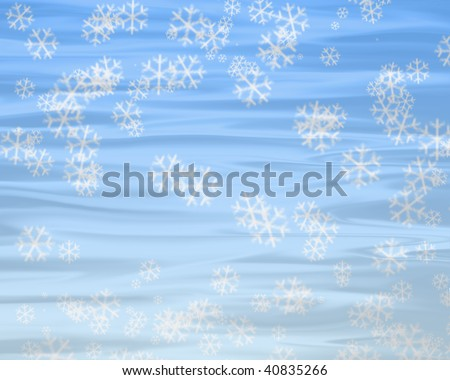 frosty natural - stock photo