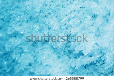 Frosty natural texture - stock photo
