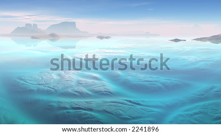 Frozen - stock photo