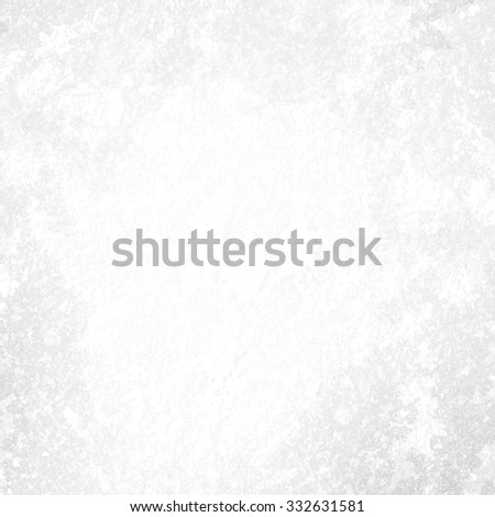 Frozen blank background in snow - stock photo
