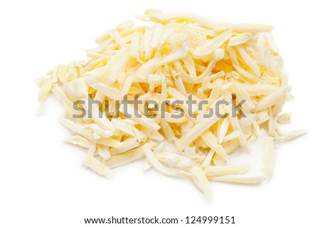 Frozen Grated Cheese - stock photo