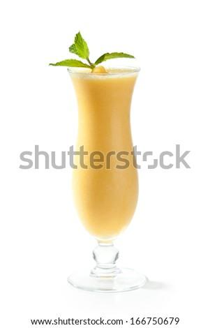 Frozen Mango Cocktail - stock photo