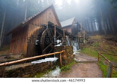 frozen water mills for gold ore