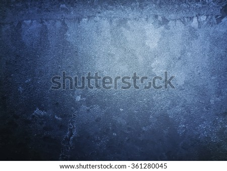 Frozen water surface. Ice background. - stock photo