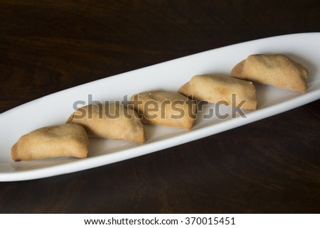 Fruit and Nut Cookies - stock photo