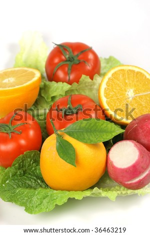 fruit and vegetabes