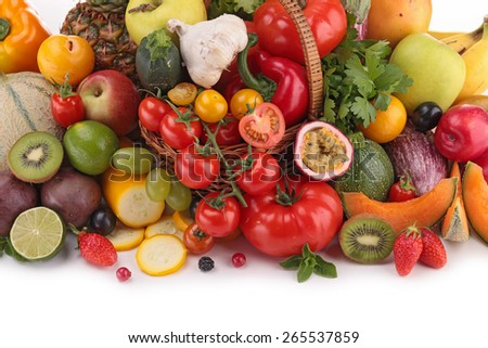 fruit and vegetable - stock photo