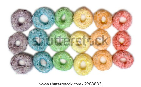 Fruit Cereal - stock photo
