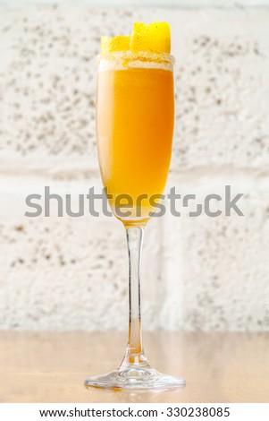 Fruit cocktail - stock photo