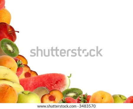 Fruit corner - stock photo