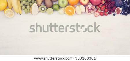 Fruit Header image - stock photo