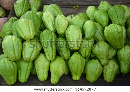 Fruit in Market - stock photo
