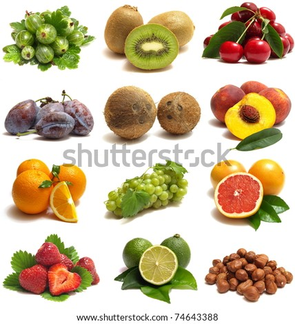 Fruit is very useful in them many vitamins - stock photo