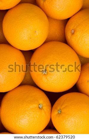 Fruit  oranges - stock photo