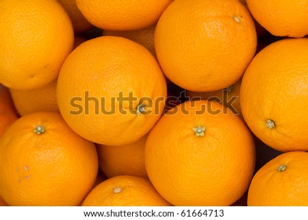 Fruit  oranges  fresh - stock photo