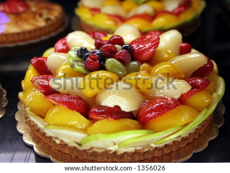 Fruit pie #2 - stock photo