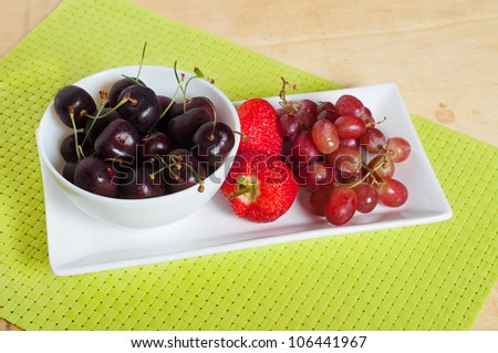 fruit platter for a healthy diet