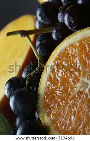 Fruit selection - stock photo