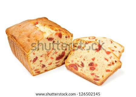 Fruitcake - stock photo